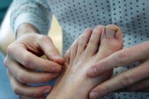 DSC01292_topfootneedle-300x200 Dry Needling Trigger Point Therapy